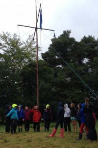 Fodhla Summer Camp Lough Lene Afric and Watch Leaders at Luigh Isteach July 2015