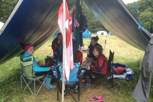 Fodhla Summer Camp Lough Lene Lunchtime July 2015