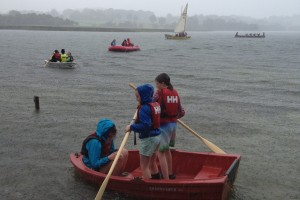Fodhla Summer Camp Lough Lene afternoon boating July 2015