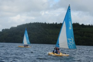 Fodhla Summer Camp Lough Lene sailing Picos July 2015